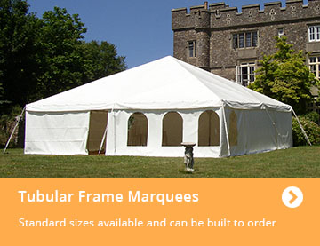 Tubular Frame Marquees